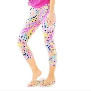 Lilly Pulitzer Pants - Lilly pulitzer weekender legging plantain party
